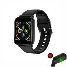 цена на VTIN Smart Bluetooth Watch IP68 Waterproof Heart Rate Tracker Fitness Man Bracelet Screen Blood Pressure Sport  Wristband