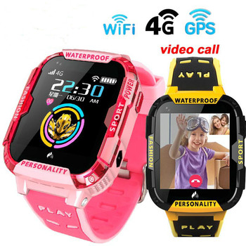iRONGEER GPS Wifi SOS 4G Smart Watch Baby IP67 waterproof Camera position Tracker Kids Smartwatch Boys Girl VS A36E Q90