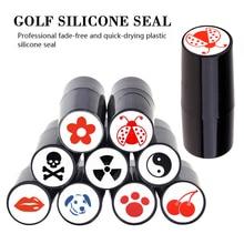 Marker Stamp Golf-Ball Impression-Seal Gift Golf-Adis-Accessories Plastic Multicolors