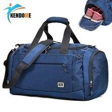 ホット屋外プロ大スポーツバッグジムバッグ男性女性独立した靴収納トレーニングバッグポータブルショルダーバッグ