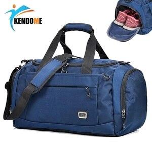 Image 1 - Bolsa de deporte profesional para exteriores, bolsa de gimnasio para hombre y mujer, almacenamiento para zapatos independiente, bolsa de entrenamiento, bolsa de Fitness portátil para hombro