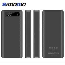 5V Dual Usb 8*18650 Power Bank Case Met Digitale Scherm Mobiele Telefoon Oplader Diy Shell 18650 batterij Houder Opladen Doos