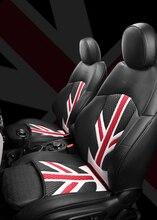Fundas de asiento de coche para BMW MINI Cooper R59, accesorios protectores de asiento de coche impermeables de cuero, venta al por mayor