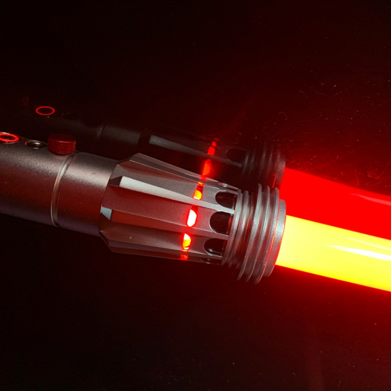LGTOY Darth Maul Metal Hilt Heavy Dueling Double Blade Lightsaber from Star The Wars with Electronics
