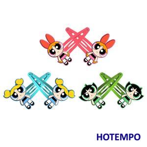 Cute Cartoon Soft PVC Hair Accessories HairClips Hairpins HairBand Blossom Bubbles Buttercup