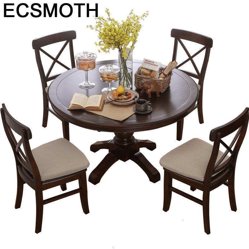 Pliante Meja Makan Tisch Yemek Masasi Comedores Mueble Eet Tafel Room Vintage Round De Jantar Mesa Desk Tablo Dining Table