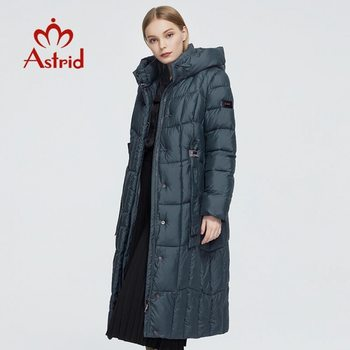 Astrid 2020 New Winter Women's coat women long warm parka Plaid fashion thick Jacket hooded Bio-Down female clothing Design 9546 1