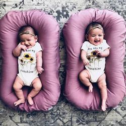 Новый дизайн, детская кроватка-гнездо и моющаяся детская кроватка для детей, хлопковая Колыбель для новорожденных, бампер