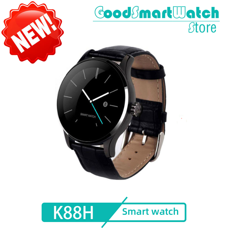 2020 New <font><b>Smart</b></font> <font><b>watch</b></font> K88H Heart Rate Monitor Sleep Monitor Messages Sedentary Bluetooth For Android IOS PK <font><b>DT98</b></font> IWO10 B57 A1 Z6 image