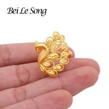 Французский Новый 24k цвет золотистый кольца для женщин Свадебные
