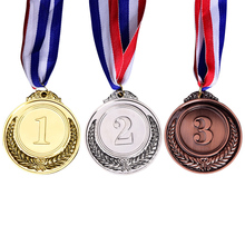 Gold Silver Bronze Award Children Medal Winner Reward Badge Kids Game Prize Kids Children Winners Medals Sports Day Party