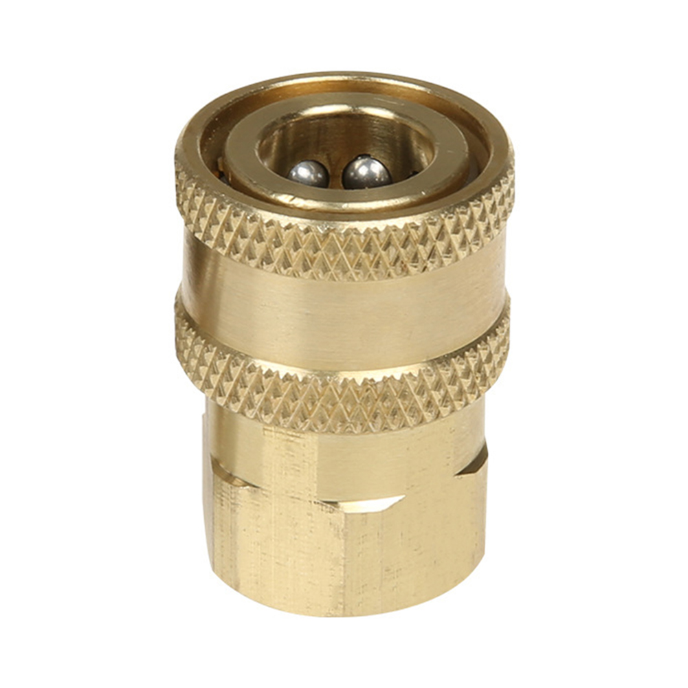 Washing Machine1pc/set Brass Connector 1/4 Quick Joint High-pressure Accessories DC120