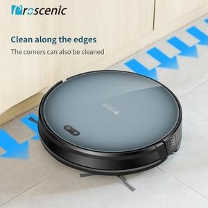 Image 4 - Proscenic robotlu süpürge 820 T, Wi Fi ve Alexa bağlı, 3 in 1 robot elektrikli süpürge, güçlü 2000PA halı ve zemin
