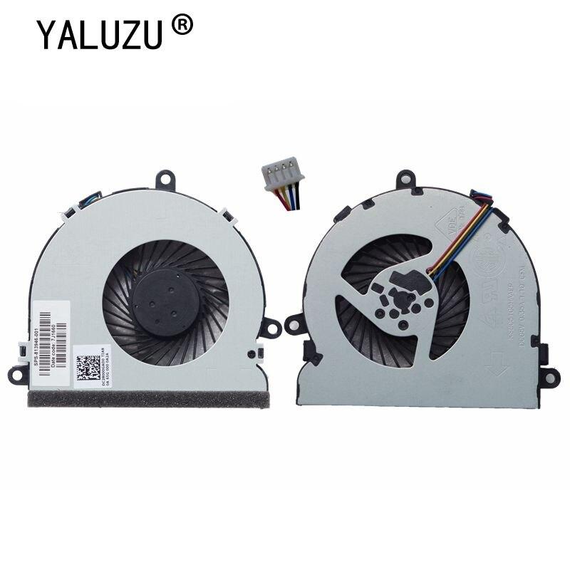 YALUZU NEW CPU Cooling Fan for HP 15-AC 15-AF 250 g4 15-ac121TX 15-AC121DX 813946-001 DC28000GAF0FCC2 DFS561405FL0T