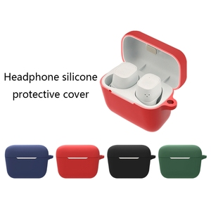 Image 2 - Escudo de silicone capa protetora escudo anti queda fone de ouvido caso para S ENNHEISER cx400bt sem fio bluetooth fones de ouvido