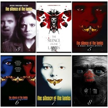 The Silence of the Lambs Movie Home Decorative Painting White Kraft Paper Poster 42X30cm