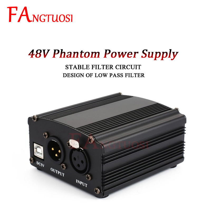 FANGTUOSI Karaoke <font><b>BM800</b></font> Microphone <font><b>Phantom</b></font> <font><b>Power</b></font> XLR Cannon Cable Studio Mikrofon <font><b>Phantom</b></font> <font><b>Power</b></font> For BM 800 Condenser Mic image
