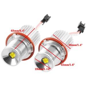 Image 3 - 1 para 40W samochodów LED migające oczy anioła Marker światło o dużej mocy lampy H8 żarówka do BMW E39 E60 E61 E65 E66 E83 E87 63126904048