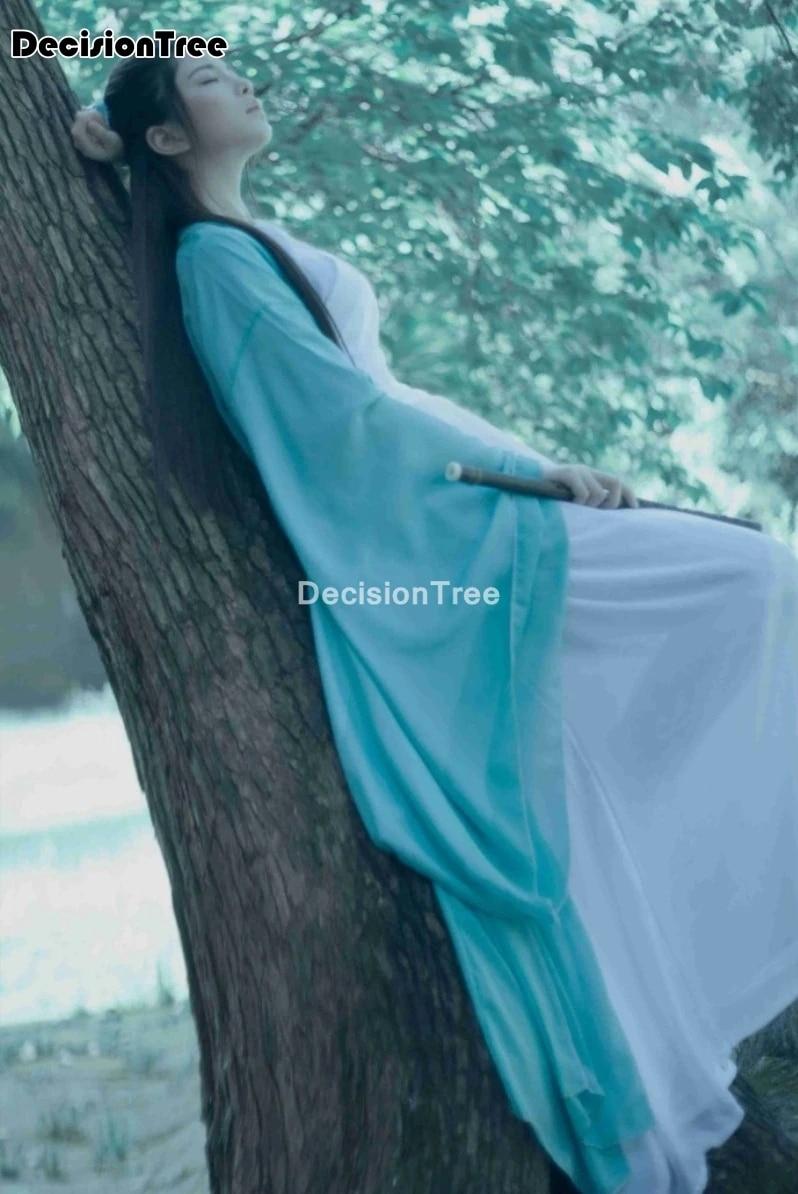 Chinese  Hanfu Frock 100/% Linen Women/'s Long Quilted Jackets Coat outwear