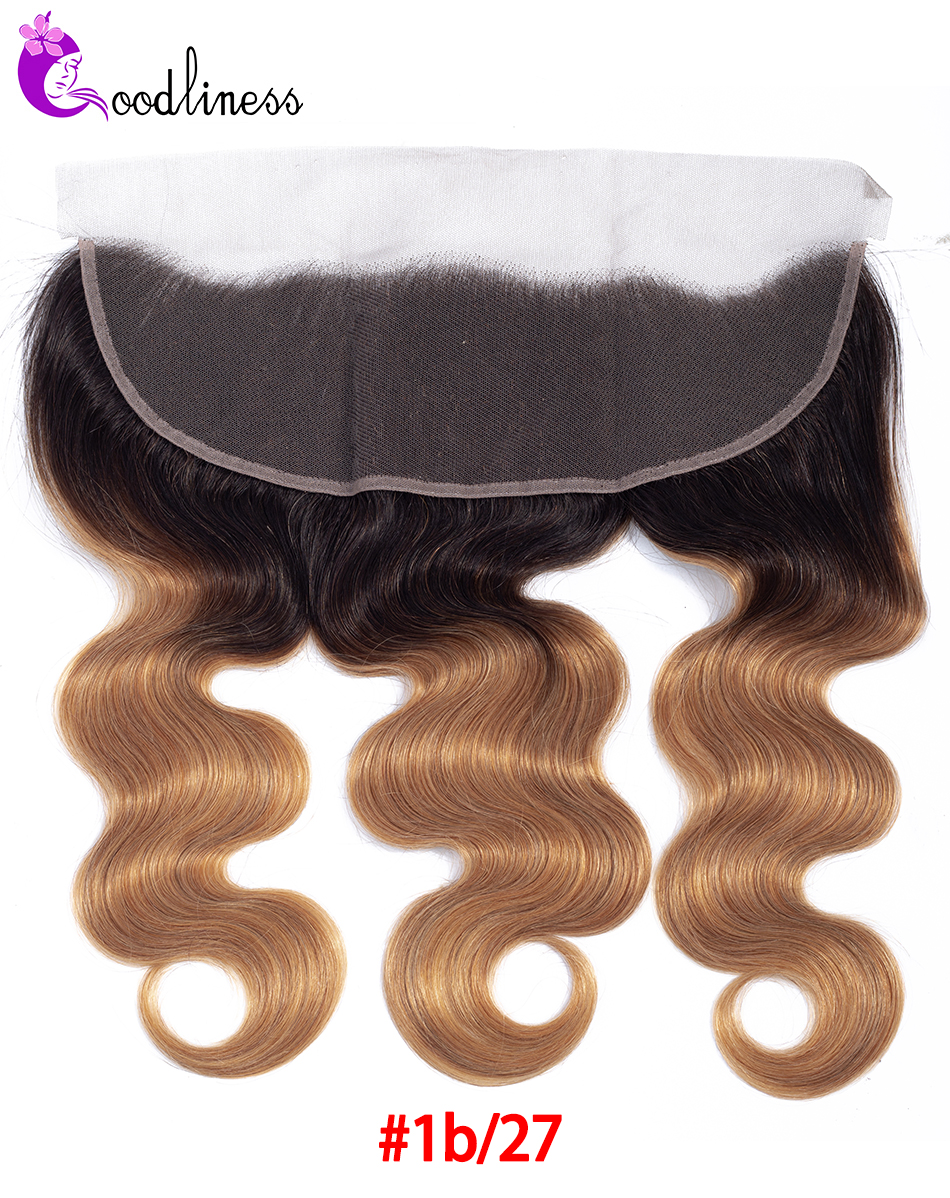 ombre blonde frontal