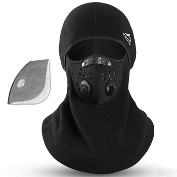 Cycling Face Mask Activated Carbon PM 2.5 Filters Sport Face Mask  Winter Bike mask Anti-Pollution Dustproof Protection Mask