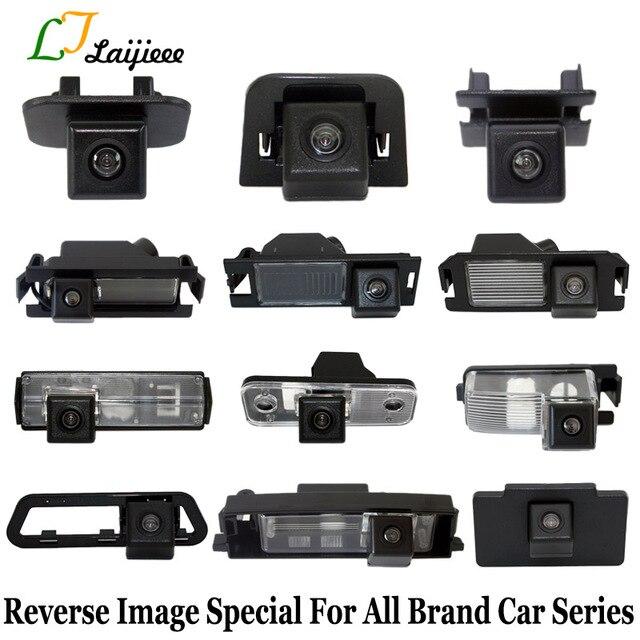عكس كاميرا لموقف السيارات الخاصة لجميع سلسلة جديدة للسيارات/لوحة ترخيص ضوء أو حفرة محفوظة HD السيارات كاميرا الرؤية الخلفية احتياطية