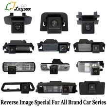 Câmera de estacionamento reversa especial, para todas as marcas, luz da placa de licença ou furo reservo, visão traseira hd câmera de backup