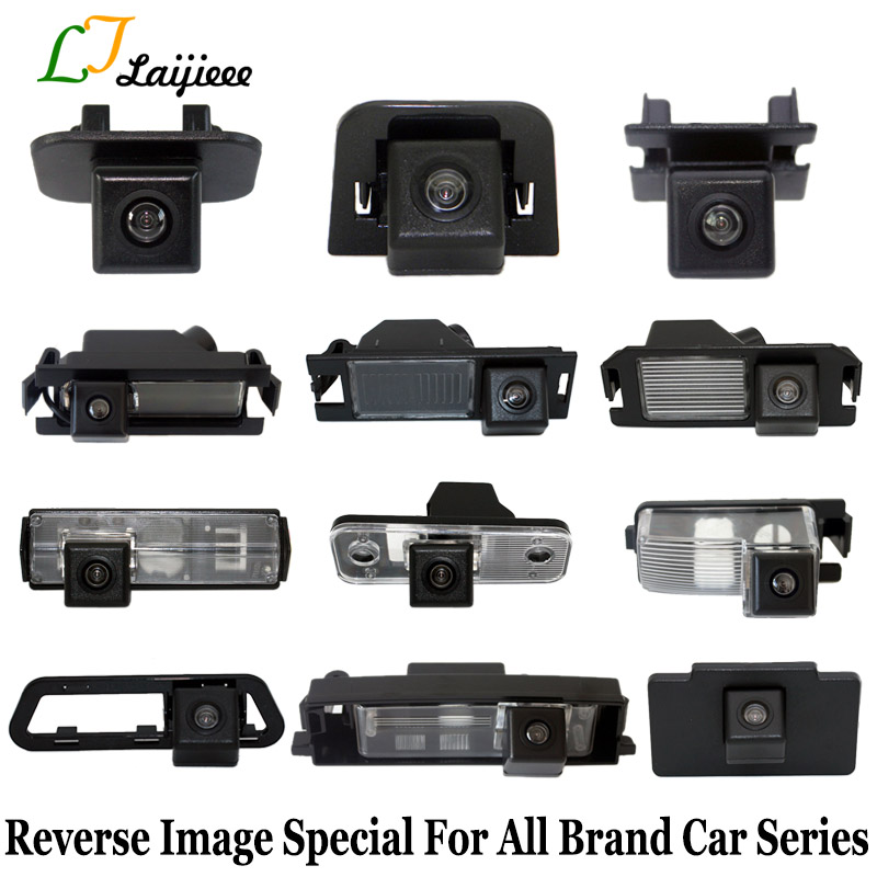 Reverse Parking Camera Special For All Brand Car Series / License Plate Light Or Reserved Hole HD Auto Rear View Backup Camera
