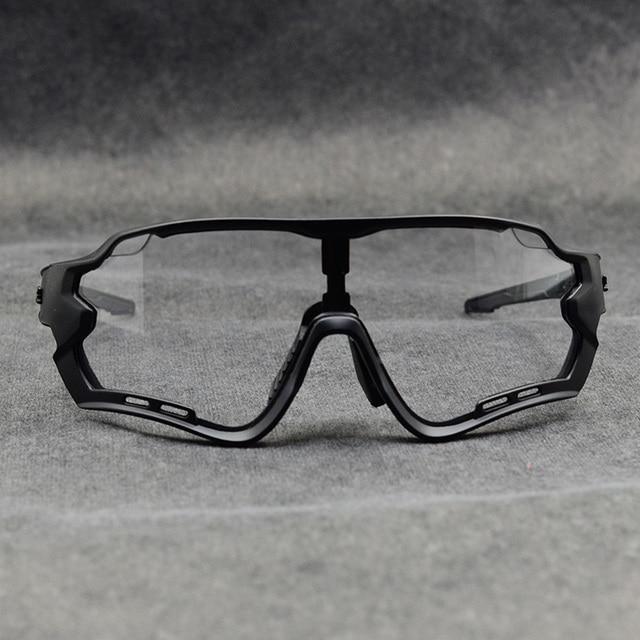 Óculos fotocrômico esportivo de marca, óculos de sol mtb bicicleta de montanha lente para ciclismo ao ar livre 4