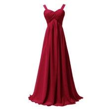 Платье на бретельках для свадебной вечеринки женское длинное