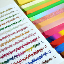 Multicolor hot stamping foil for toner reactive by laser printer and laminator for wedding invitation cards printing