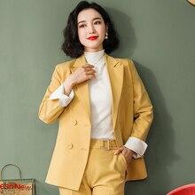 Suit Set Women's Korean Loose OL High End Professional Solid