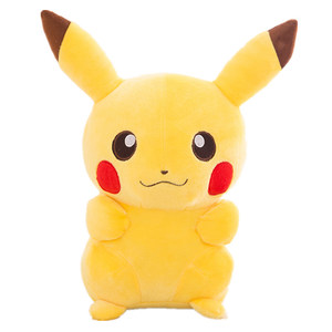 55cm Pikachu Movie Plush Doll Animal Plush Stuffed Pokemon pelucia Child birthday gift to appease the doll Cartoon toy figurine
