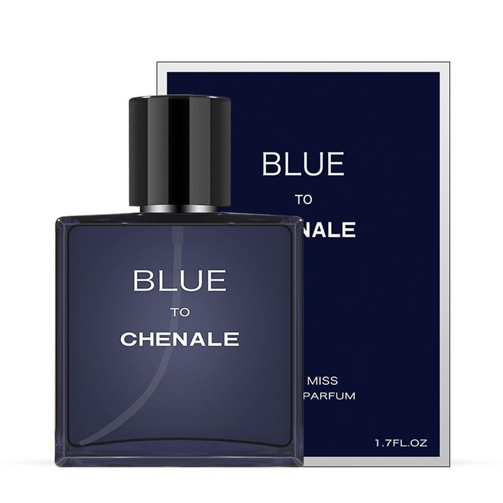 50ml Original Men Perfume Romantic Elegant Ocean Body Spray  Long-lasting Male Perfume Fresh Fragrance Spray Perfumy Wholesale T