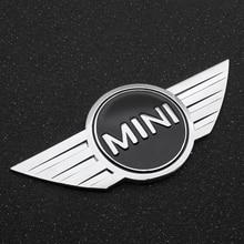 3D Metal Auto Sticker Emblem Badge Decal Car Styling Decoration For Mini Cooper One-S JCW R55 R56 R58 R59 R60 F56 F60