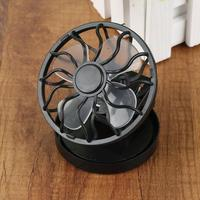 Tragbare Solar Fan Clip-Auf Mini Fan Für Reise Camping Angeln Voll Automatische Licht Control Fan Kühlung Ventilator Luft kühler