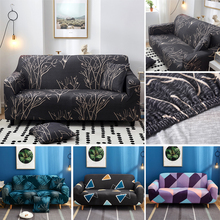 Non-slip Elastic Sofa Cover Polyester Four Seasons All-inclusive Stretch Slipcover Sofa Cushion Sofa Towel for 1/2/3/4 Seat four person sofa four seasons universal elastic tight all inclusive all inclusive fabric non slip sanding sofa cover sofa cushio