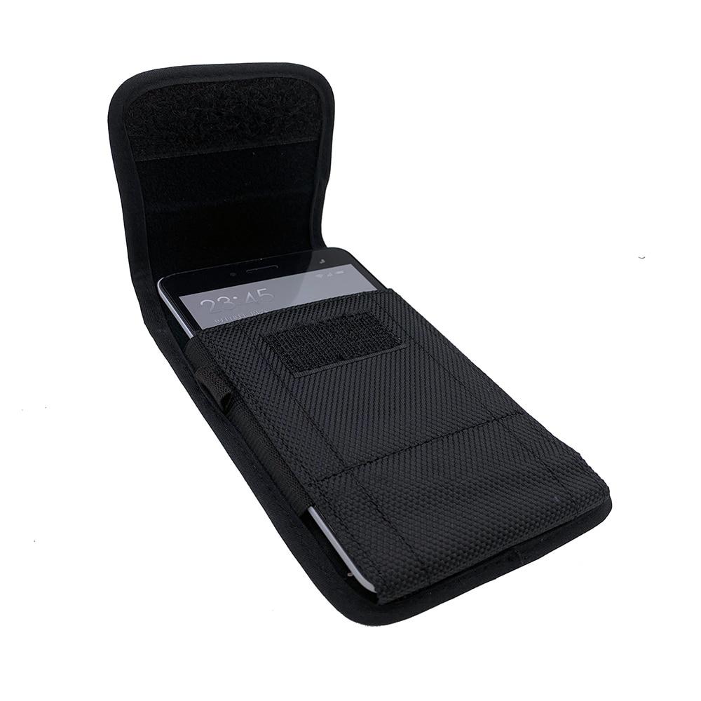 Mobile Phone Waist Bag For Umidigi One Max Belt Bag Hook Hoop Holster Phone Pouch Waist Bag Cover For Umidigi Power / S3 Pro