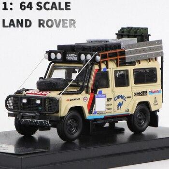 164 escala MASTER LAND ROVER DEFENDER 110 coche modelo de Diecast y vehículos de juguete recoger regalos