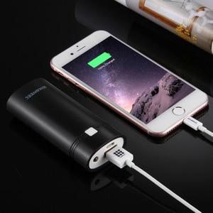 Image 2 - 2x18650 батарея портативный 5600 мач DIY Power Bank Box Shell с USB выходом и индикатор для iPhone для Samsung без аккумулятора 5V