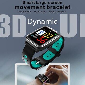 Smart Watch Men Women Heart Rate Blood Pressure Monitoring Wristband Fitness Tracker Waterproof Smartwatch reloj inteligente