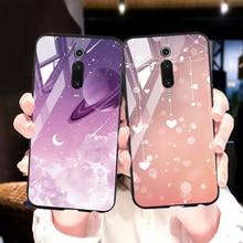 Phone Case For Xiaomi Mi Note 10 Pro Case Tempered Glass Cover Funda Soft Cases For Xiomi Mi 9 Pro 9T 8 SE A3 Lite CC9 Case premium plastic hard case for xiaomi mi 9t pro a2 8 lite 9 se case ultra thin matte full cover xiaomi mi 9t pro shockproof cover