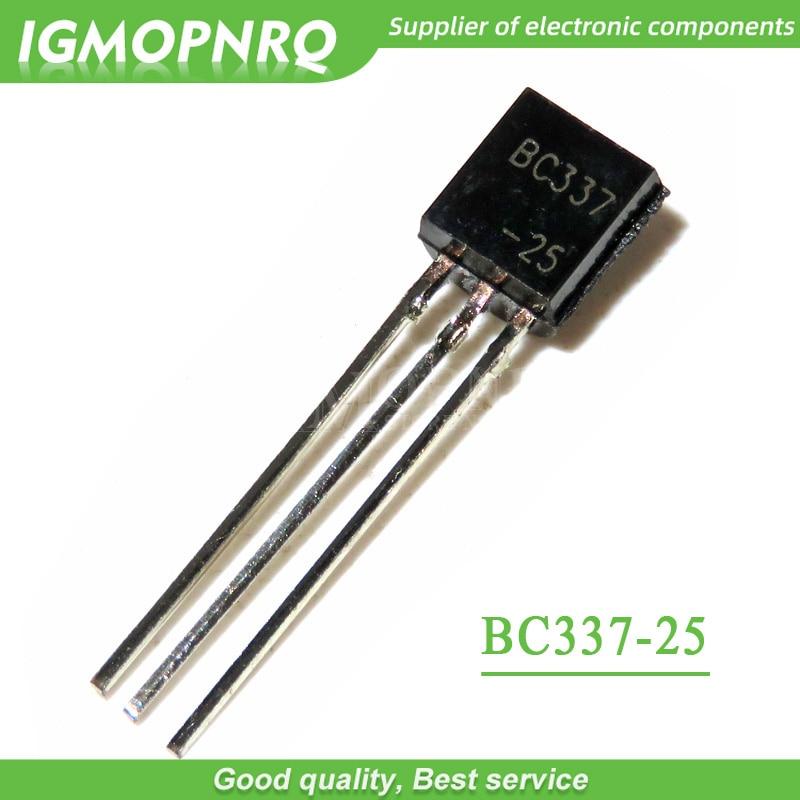 100pcs/lot Low Voltage And Low Noise Transistors C33725 BC337-25 TO-92 New Original