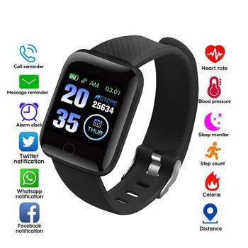 Smart Watch Bracelet Heart Rate Fitness Tracker Watches Men Women Blood Pressure Monitor Waterproof Sport Smartwatch