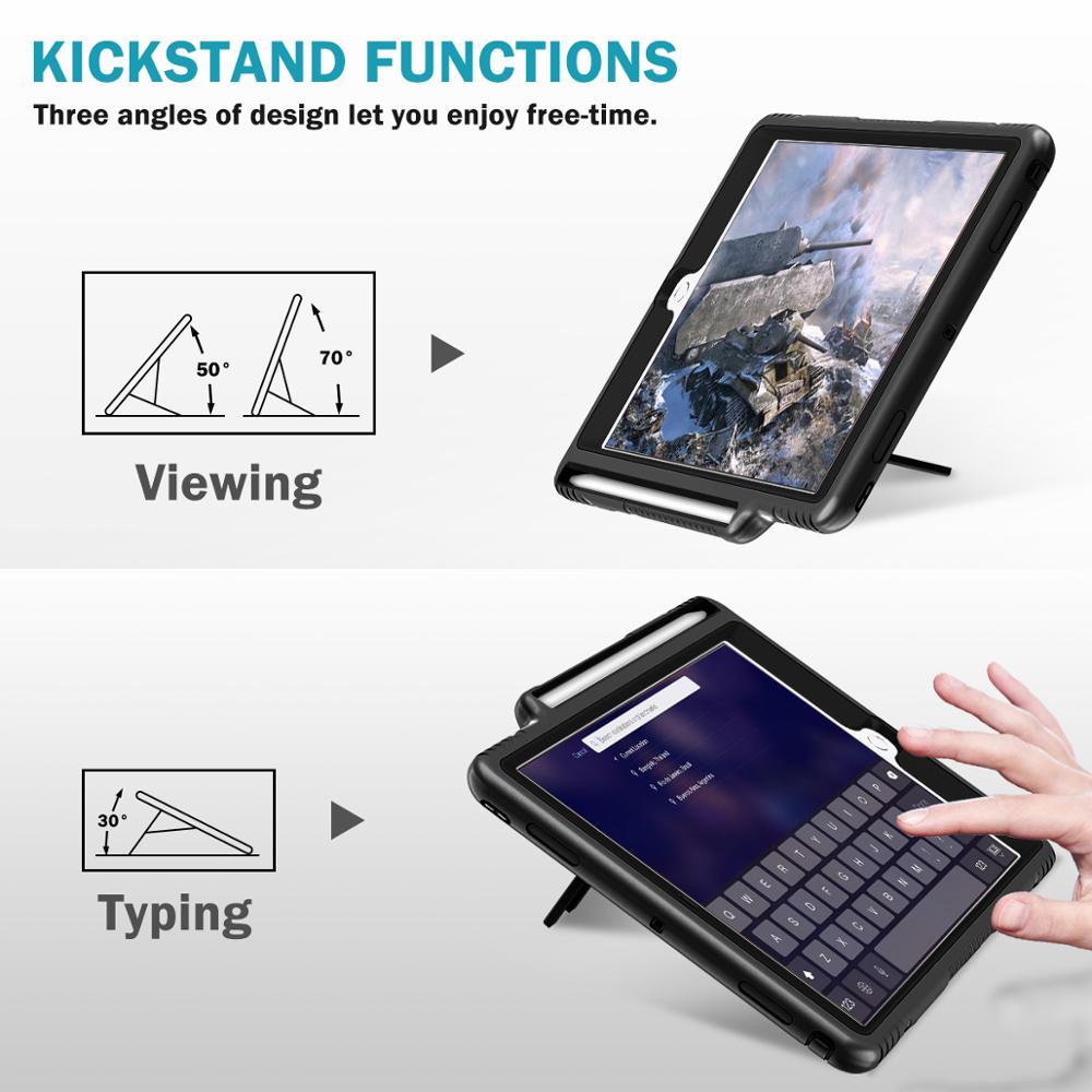 Screen Protector Pencil Holder iPad 10.2 Case