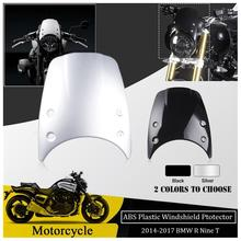 ABS Plastic Wind shield Windshield Windscreen Flyscreen Headlight fairing Cover For BMW R NINE T 2014 2015 2016 2017 R9T R NINET abs motorcycle windscreen windshield cover for 2016 2017 2018 bmw g310r g 310r 310 r wind shield deflector with mounting bracket