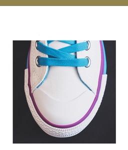 Image 5 - Moda mulher sapatos 2019 antumn arco íris mulher sapatos de lona moda casual retro novas sapatilhas plana rasa vulcanizada sapatos femininos