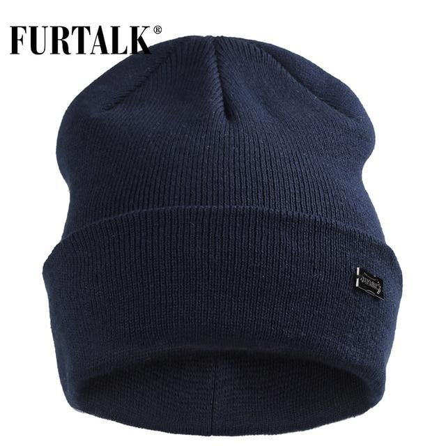 FURTALK Winter Hats for Women Men Knitted Beanie Hat Cap for Girls Female and Male Skullies Couples Stocking Hats Cap