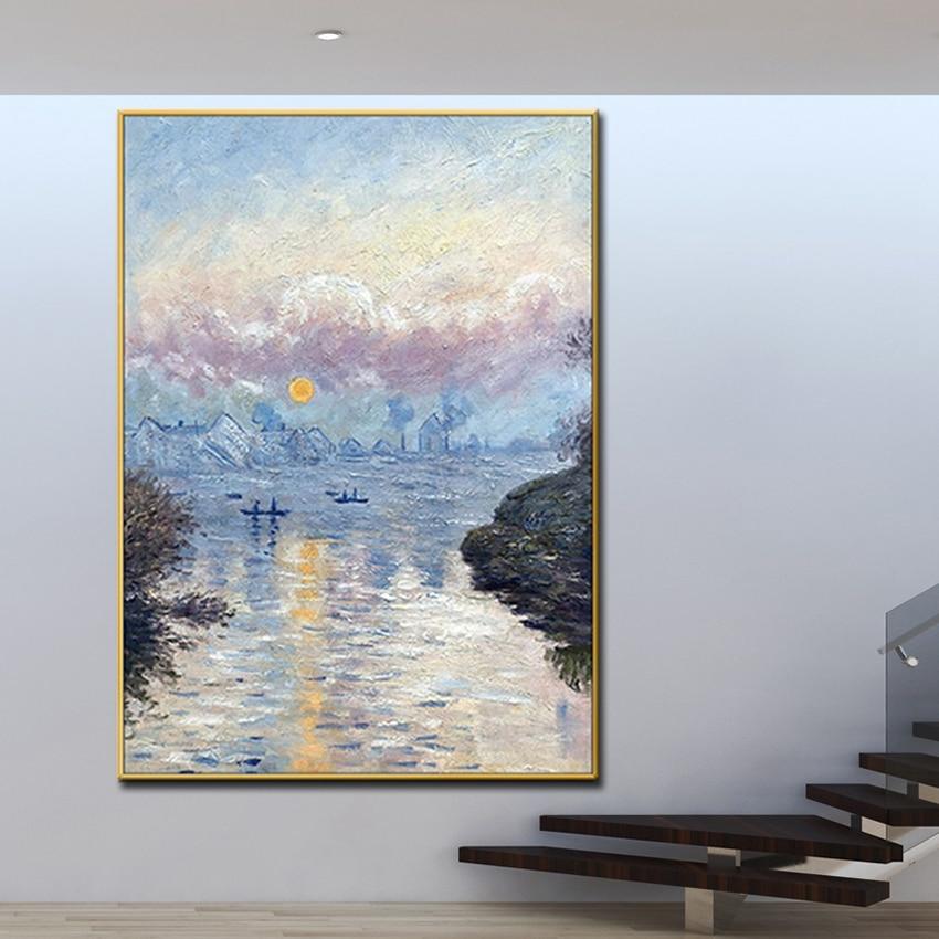 estar arte da parede pintura decorativa sem moldura