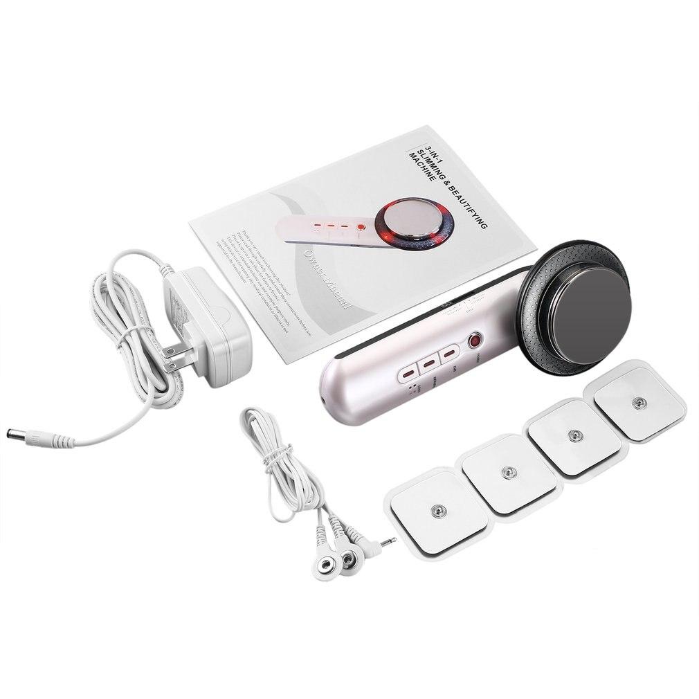 Masajeador ultrasónico de cavitación corporal para pérdida de peso, dispositivo quemador de grasa anticelulítico, terapia adelgazante de ultrasonido, infrarrojos, galvánico